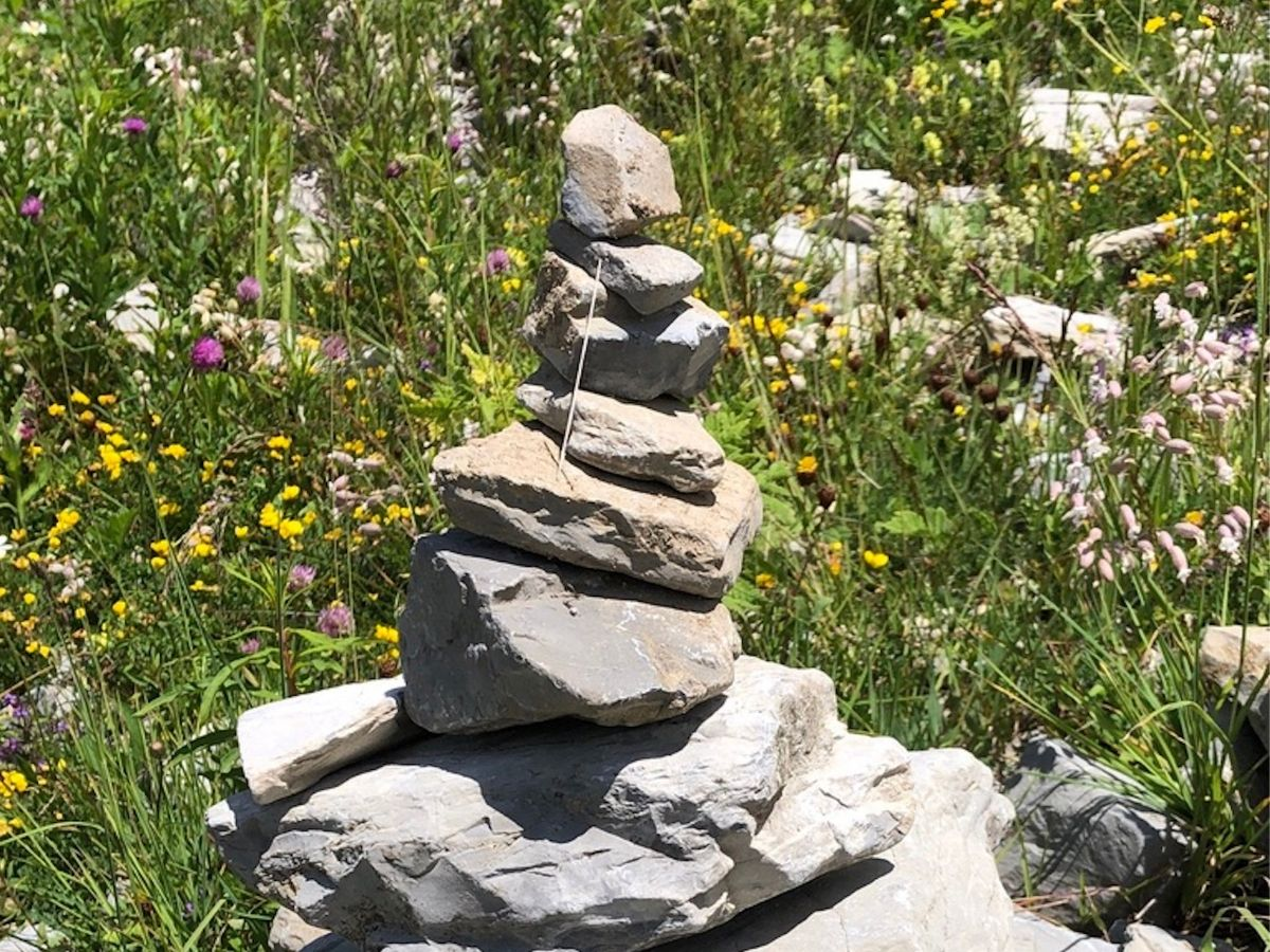 Image of rocks stacked atop one another