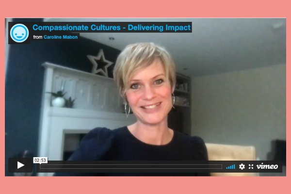 Thumbnail of Caroline M Delivering Impact video - click to play